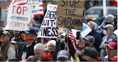 岡田光世「トランプのアメリカ」で暮らす人たち  「危険な自由」求め、コロナ外出禁