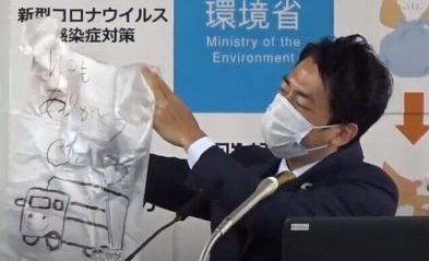 小泉進次郎環境相「ゴミ袋にメッセージ」を 収集員への感謝呼びかけもSNS賛否