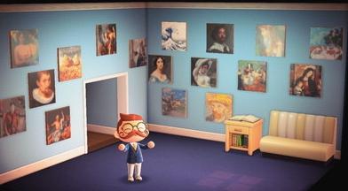 「あつ森」始めたてでもわかる! メトロポリタン美術館の「あつ森」ボタンを100%