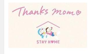 ドラえもんチャンネルにてのび太のママと家族の「STAY HOME」を描いた母の日