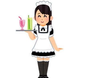 【画像あり】メイド服を着たワイ「おはよ!朝ごはんできてるよ!🤗」